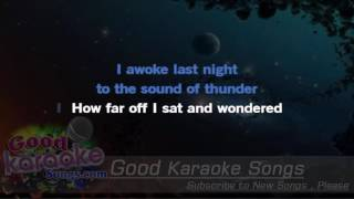 Night Moves - Bob Seger (Lyrics Karaoke) [ goodkaraokesongs.com ]
