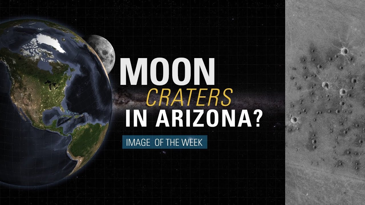 Moon Craters in Arizona?