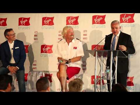 Virgin Cruises announces a trio of ships, the first will be based in Miami