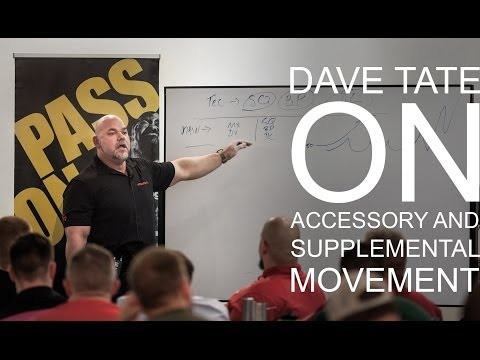 elitefts.com — Dave Tate's LTT8 Seminar Presentation on Training Accessory Movements
