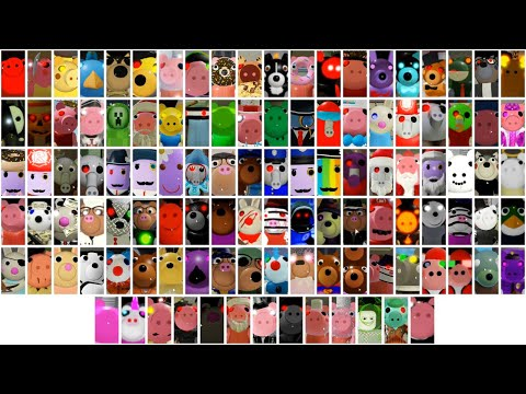 100+ ROBLOX PIGGY RP JUMPSCARES!!!