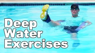 Deep Water Exercise in a Pool (Aquatic Therapy) - Ask Doctor Jo