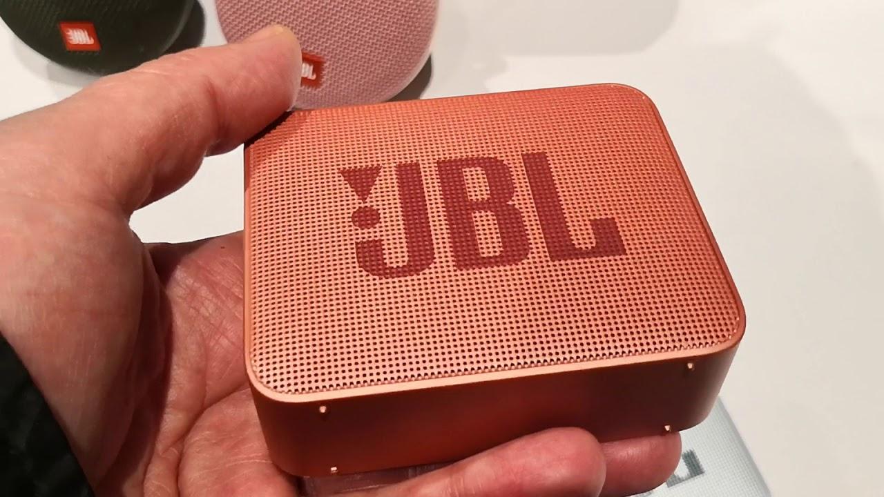 Jbl Go 2 Bluetooth Speaker Youtube
