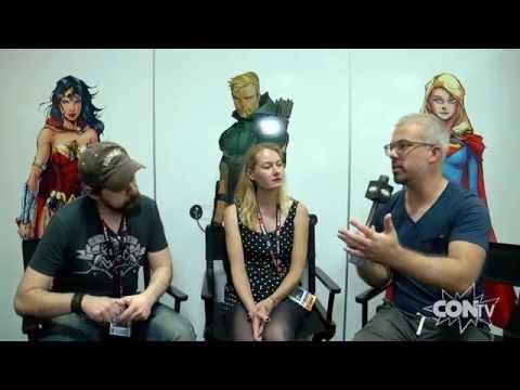CONtv Insider: San Diego Comic-Con - Hope Larson and Rafael Albuquerque Interview