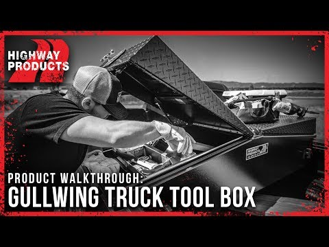 Highway Products | Gullwing Truck Tool Box