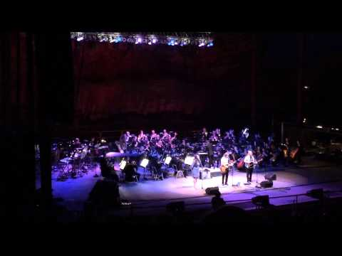 Indigo Girls WAR RUGS w/ Lucy Wainwright & Colorado Symphony at Red Rocks 7/27/14