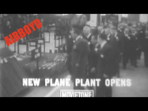 Curtis-Wright Factory Opens (1941)