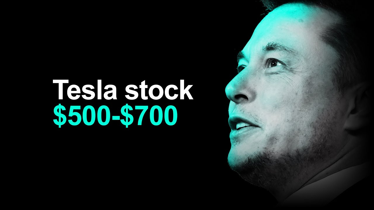 Tesla Stock Upgraded to $500 ($700 bull case) 🚀📈