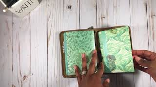 My Commonplace Book Setup in an A6 Traveler's Notebook | Hope. Dream. Journal.
