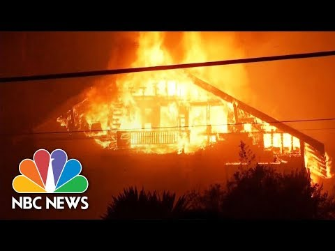 Ventura County, California Wildfire Spreads Across 30,000 Acres | NBC News