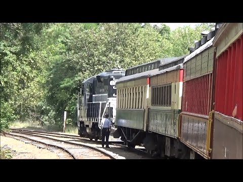 Conway Scenic Railroad Valley Train 8/13/15