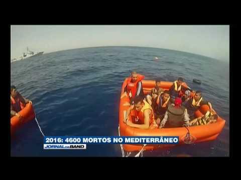 300 imigrantes já morreram no Mar Mediterrâneo