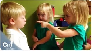 little boy gets his heart poked arguing about rain