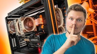 The Silent AIR COOLED Gaming PC!