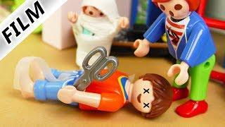 Playmobil Film deutsch | JULIAN WIRFT SCHERE - Steve schwer verletzt? | Kinderfilm Familie Vogel