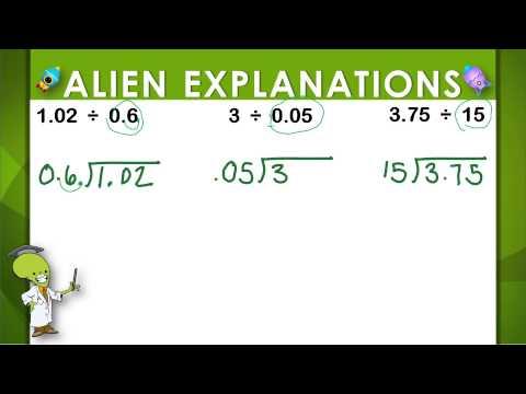 Dividing with Decimals - 5th Grade - Education Galaxy