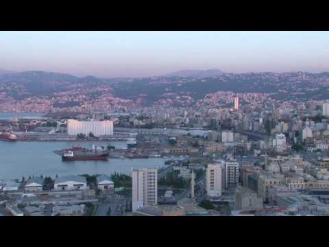 Time Lapse - Lebanon - Beirut Port View