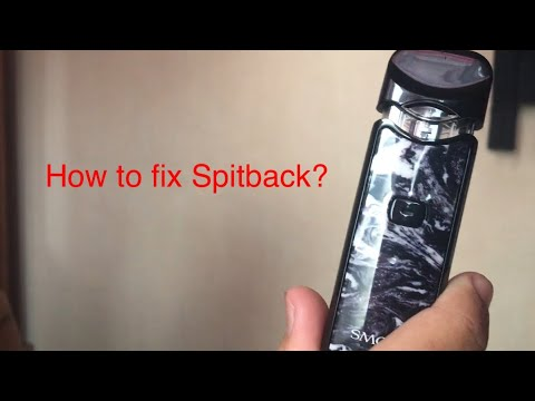 How To Fix Spitback Smok Nord!