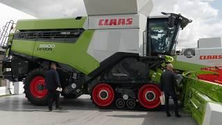 Największy kombajn w Europie na Agro Show 2019! - CLAAS Lexion 8900 | FARMER.PL