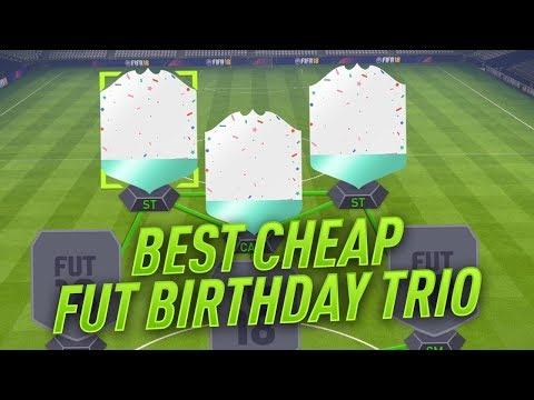 FIFA 18 BEST CHEAP FUT BIRTHDAY CARDS - INCREDIBLE & DEADLY STRIKER TRIO in ULTIMATE TEAM