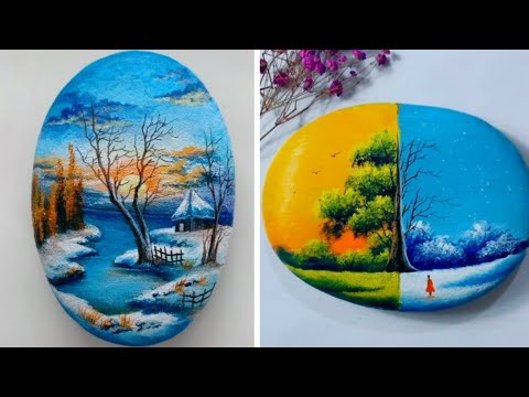 10 Best Rock Painting Ideas Easy Stone Painting Ideas Youtube