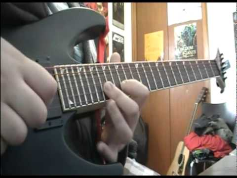 The Devil Wears Prada - Holdfast (guitar cover) (new song 2011)