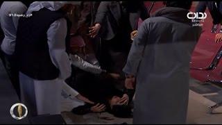 شاهد .. تعرض أحد متسابقي #زد_رصيدك91 لحالة إغماء بعد خروج شقيقه من البرنامج