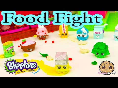 Playdoh Food Fight