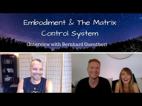 Embodiment & The Matrix Control System (Interview with Bernhard Guenther)