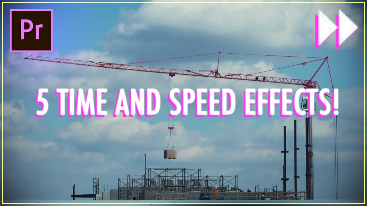 Five Essential Time and Speed Effects in Adobe Premiere Pro