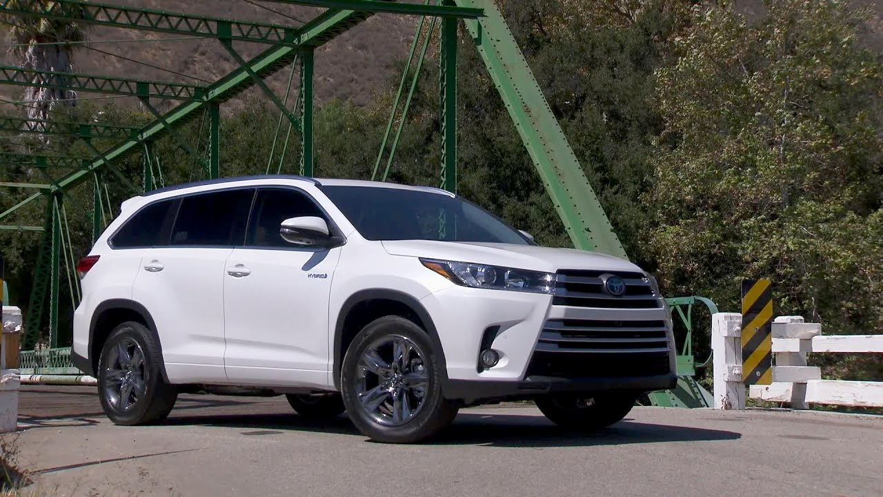 2017 toyota highlander hybrid limited youtube. Black Bedroom Furniture Sets. Home Design Ideas