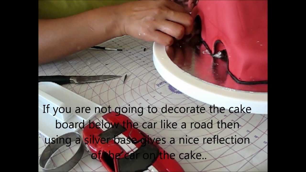Decorating a cake car cake youtube baditri Choice Image