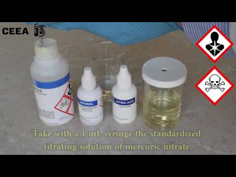 CHLORIDE CONTENT DETERMINATION USING MERCURY NITRATE
