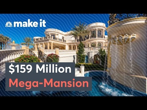 Inside A $159 Million Mega-Mansion – Secret Lives Of The Super Rich