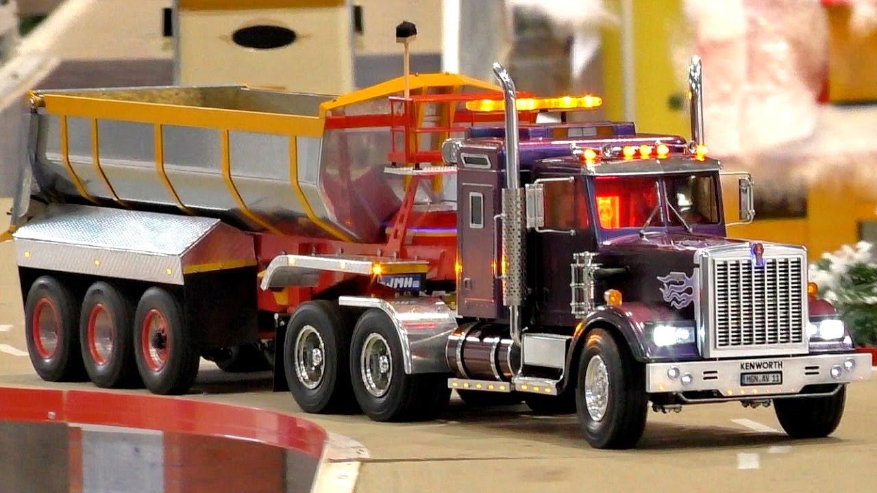 best rc scale 1 14 model trucks in the winter landscape. Black Bedroom Furniture Sets. Home Design Ideas