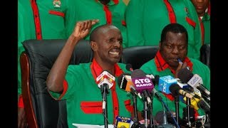 MP Wilson Sossion challenges credibility of KCSE 2017 as Activist Okiya Omtatah demands for papers