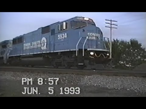 Trains of Northeast Indiana -  June 5 1993