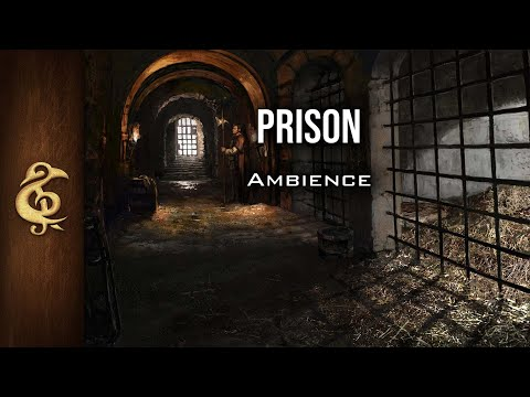 🎧 RPG / D&D Ambience - Prison | Jail, Dungeon, Solitary, Fantasy, Immersive, Rats, Guards