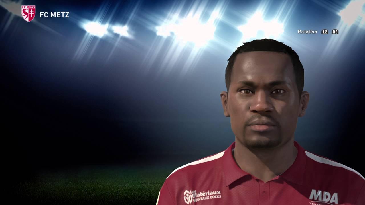 PES 2016 FACES EDITION Emmanuel MAYUKA FC METZ