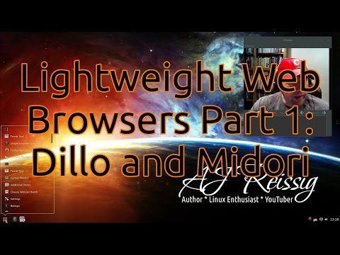Lightweight Web Browsers Part 1:  Dillo and Midori