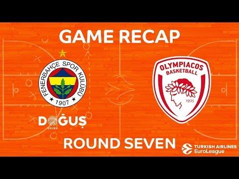 Highlights: Fenerbahce Dogus Istanbul - Olympiacos Piraeus
