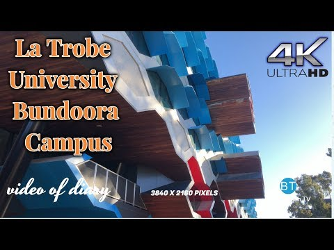 4K VIDEO La Trobe University Bundoora Campus VIC AUS (2019) 4k Video UHD