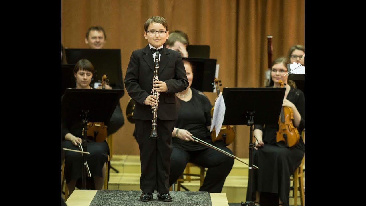 Download J. A. E. Koželuh: Concerto in E-flat for clarinet and orchestra, 1. movement (Vojtěch Vrba)