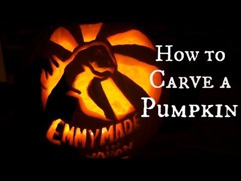 How to Carve a Jack-O-Lantern & Roast Pumpkin Seeds