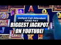 BIGGEST JACKPOT ON YOUTUBE ★ $50 BETS ON EMPRESS OF TIME ➜ HANDPAY