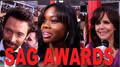 Hugh Jackman, Sally Field and Gabby Douglas | 2013 SAG Awards Red Carpet