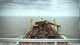 UKHO Oil Tanker Timelapse
