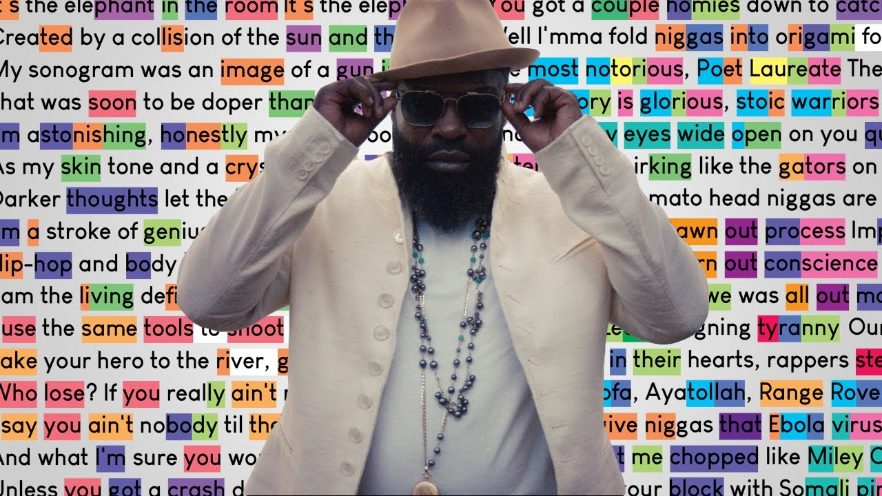 Black Thought on Bird's Eye View   Rhymes Highlighted