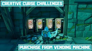 Purchase Items from Vending Machines in Retribution! - Creative Curse Chapter 2