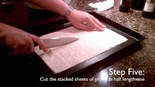 secrets to phyllo from scratch